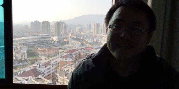 Nieuwjaarsgroet van David uit China