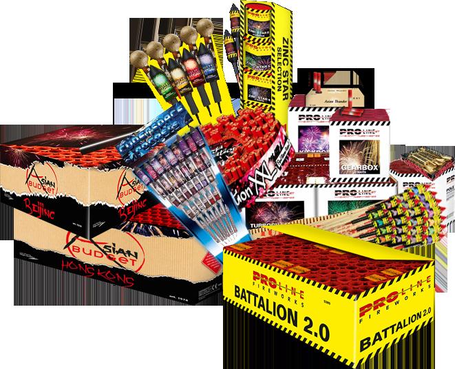 Vuurwerkproducten ProLine